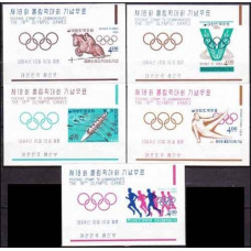 1964 Korea, South Mi.462/B194b-66/B198b 1964 Olympiad Tokio 30,00 €