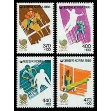 1986 Korea, South Mi.1435-38 1988 Olympiad Seoul 3,60 €