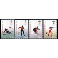 2010 Kyrgyzstan Mi.609-612 2010 Olympiad Vancouver 9,00 €