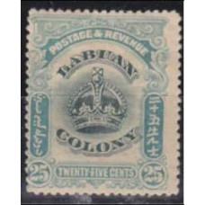 1902 Labuan Mi.107* Edward VII 10.00 €