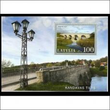 2008 Latvia Mi.741/B25 Bridges 3.30 €