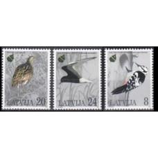 1995 Latvia Mi.403-405 European Nature Conservation Year 4,00 €