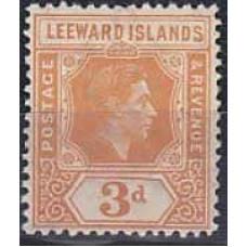 1938 Leeward Islands Mi.98a* George VI 30.00 €
