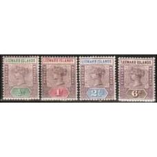 1890 Leeward Isiands Mi.1-3.5* Victoria 17.40 €