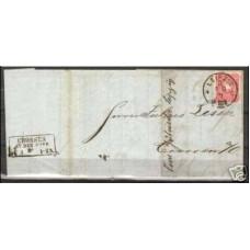 1881 Cover Leipzig vers Crossen an der Oder €