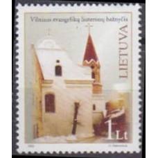2005 Lithuania(Leutva) Mi.861 Architecture 0,80 €