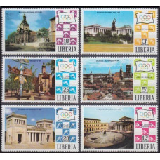 1971 Liberia Mi.786-791 1972 Olympics in Munich