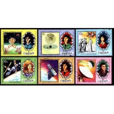 1973 Liberia Mi.896-901used Nicolaus Copernicus