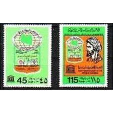 1980 Libya Mi.849-850** 1.50 €