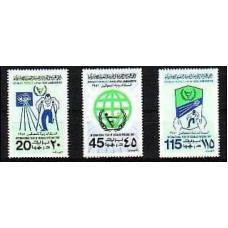 1981 Libya Mi.857-859** 1.70 €