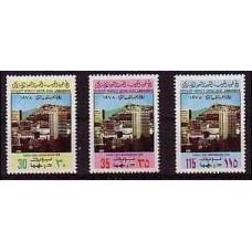 1978 Libya Mi.652-654** Architecture 1.80 €