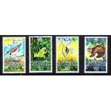 1989 Liechtenstein Mi.967-70 WWF / Fauna 4.00 €