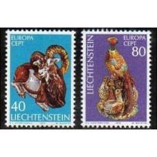 1976 Liechtenstein Mi.642-643 Fauna 1,50 €