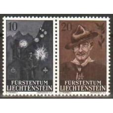 1957 Liechtenstein Michel 360-361* 4.20 ? €