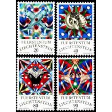 1976 Liechtenstein Mi.658-661 Zadiak 3,00 €
