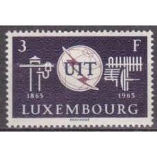 1965 Luxembourg Mi.714 UIT 0,30 €