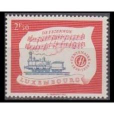 1959 Luxembourg Mi.611 Locomotives 2,50