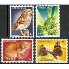 1985 Luxembourg Mi.1133-1136 Endangered wildlife 12,00