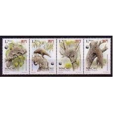 1995 Macao Mi.795-98strip WWF / Fauna 8,00 €