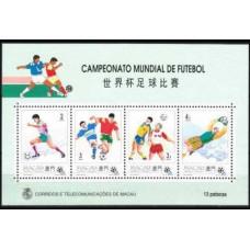 1994 Macao Michel 759-62/B27 1994 World championship on football of USA 18.00 €
