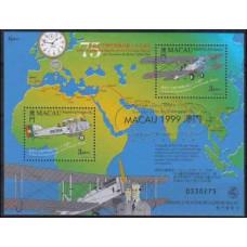 1999 Macao Michel 1014+15/B65 I Planes 2.60 €