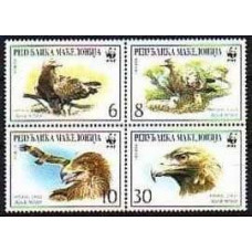 2000 Macedonia Mi.215-218VB WWF 2.20 €