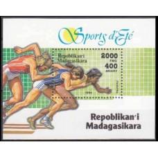 1994 Madagascar Mi.1716/B262 Sport 3,00 €