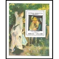 1985 Madagascar - Malagasy Mi.996/B30 A. Renoir 6,50 €