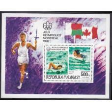1976 Malagasy Mi.780/B10 1976 Olympiad Montreal 6,00 €