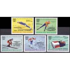 1976 Malagasy Mi.802-806 1976 Olympiad Innsbruck 9,00 €