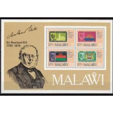 1979 Malawi Michel 332-335/B56 Rowland Hill 2.80 €