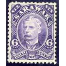 1895 Sarawak SG 30 (GBP 14.00)