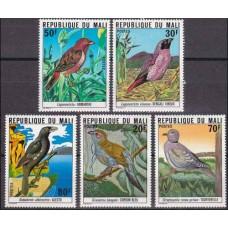 1978 Mali Mi.633-637 Mali birds 10,00 €