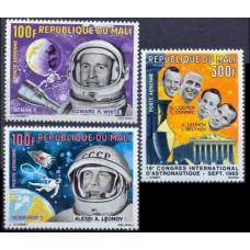 1966 Mali Mi.117-119 Astronauts 10.00 €
