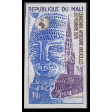 1973 Mali Mi.396b Architecture
