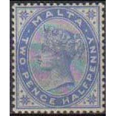 1885 Malta Michel 7* Victoria 50.00 €