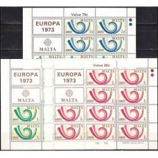 1973 Malta Michel 472KL-74KL Europa 15.00 €