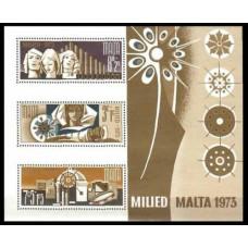 1973 Malta Mi.478-80/B3 10.00 €