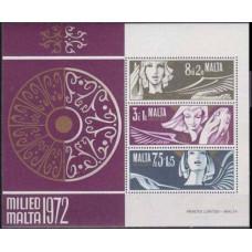 1972 Malta Mi.454-56/B2 3,00 €