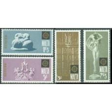 1974 Malta Mi.493-496 Europa 1,50