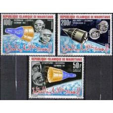 1966 Mauritania Michel 270-272 Astronauts 6.50 €