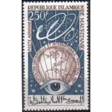1967 Mauritania Mi.307 Satellite