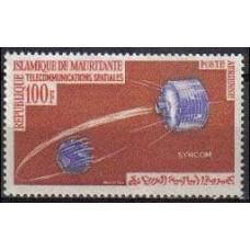 1964 Mauritania Mi.230 Satellite
