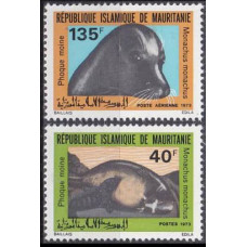 1973 Mauritania Mi.450-451 Sea fauna 7,50 €
