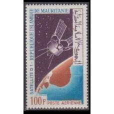 1966 Mauritania Mi.277 Satellite D-1
