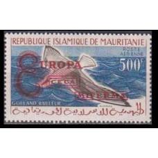 1962 Mauritania Mi.VIa Overprint EUROPA... on 1961 Definitives 20,00 €