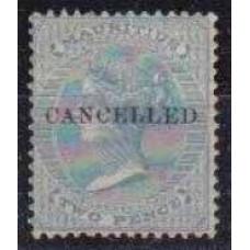 1863 Mauritius Mi.28used Victoria 8,50 €