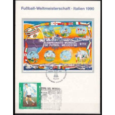 1986 Mexico cancel 1990 World championship on football of Italien €