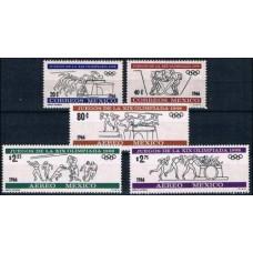 1966 Mexico Mi.1214-1218 1968 Olympic Mexico 5,00