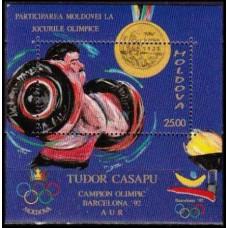1992 Moldova Mi.38/B2 1992 Olympiad Barselona 4,00 €